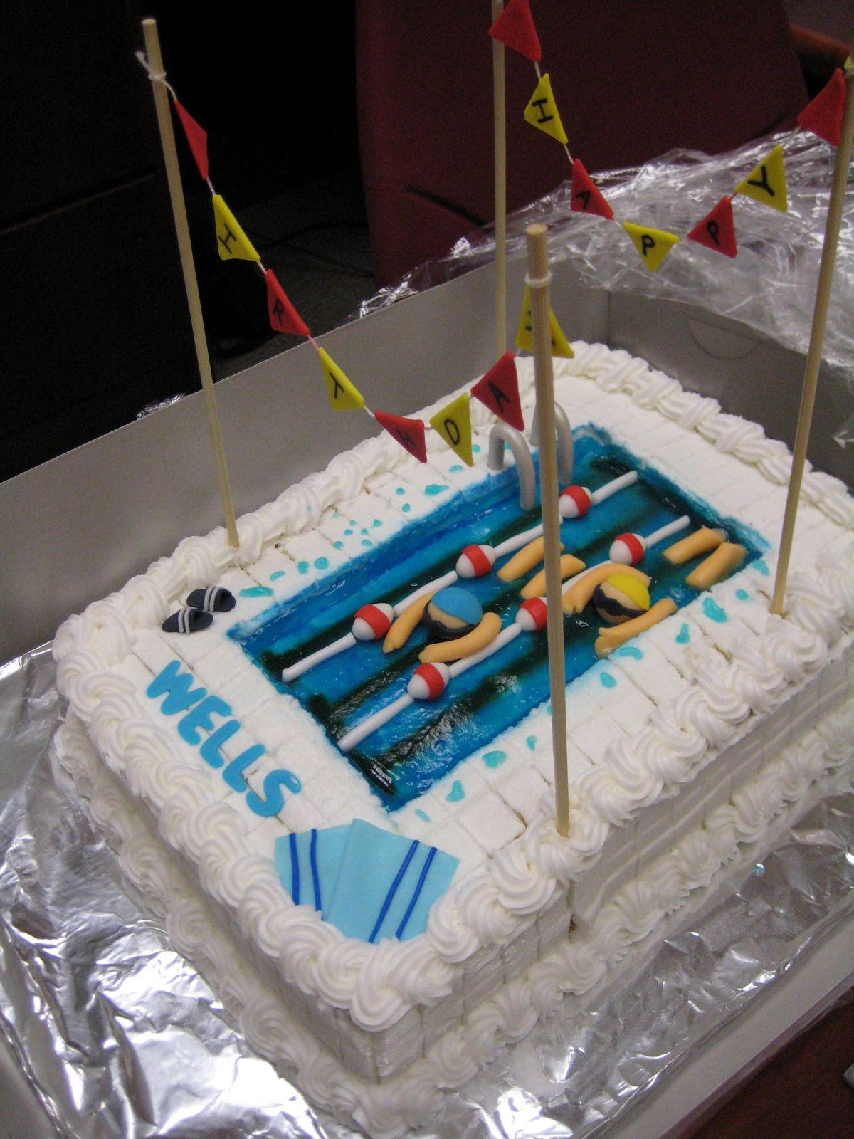 Pin Pin Pool Party Cake Cakes Design Ideas On Pinterest Cake On